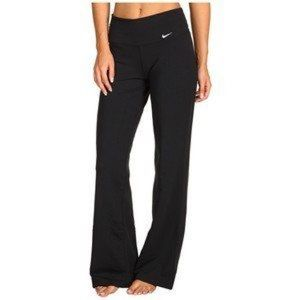 Nike Fit Dry Long Flare Black Yoga Athletic Pants